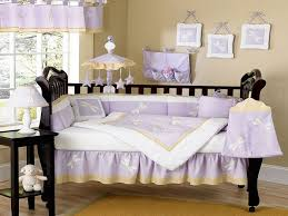 dreams purple baby crib bedding sets erfly and stars neutral