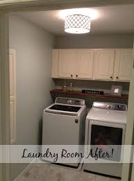 Diy Laundry Room Makeover Stretching A Buck Stretching A Buck