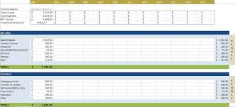 budget spreadsheet free budget templates in excel for any use