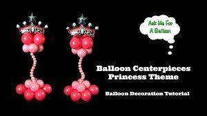 Princess Balloon Decoration Balloon Centerpieces Princess Theme Balloon Decoration Tutorial