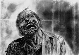 Disegni A Matita Horror E Fantasy Come Disegnare Zombie Orchi E