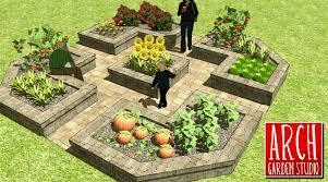 vegetable garden layout basics veggie gardener raised bed designs design with amazing rectangle and square shape