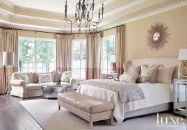 transitional bedroom design. Cream Transitional French-Inspired Master Bedroom - Luxe Interiors + Design