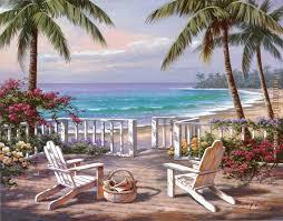 coastal view painting sung kim coastal view art painting