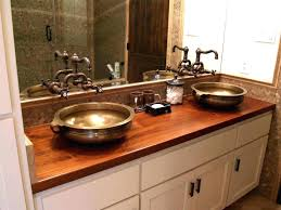 wood bathroom butcher block teak custom kitchen island counter tops reclaimed countertop organizer wood bathroom