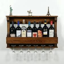wall mounted wine glass rack. Wall Wine Glass Rack 6 Bottle Mounted O