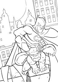 Small Picture Batman and gargoyle coloring pages Hellokidscom