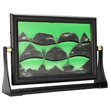 3d moving sandglass sand picture frame motion art home desk decor birthday gift random color