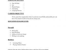Download Easy Resume Examples Haadyaooverbayresort Com