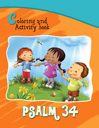 psalm 34 coloring and activity book for kids