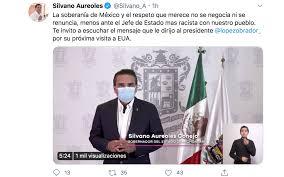 Califica Silvano Aureoles a AMLO de sumiso y subordinado por visita a Trump