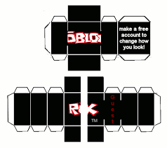 How To Make A Roblox Skin Papercraft Roblox Guest