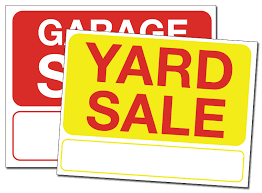 Printable Yard Sale Signs Template Fellowes