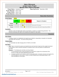 Monthly Report Template Word Weekly Progress Report Template Project Management Cool Monthly 57