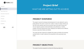 Graphic Designer Brief Introduction Free Web Design Statement Of Work Better Proposals