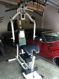 home gym marcy exercise chart