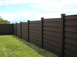Horizontal Wood Fence Horizons Stepped Fence Install Horizontal Wood