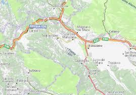 Sebastiano in tagliacozzo wird von 4 bus linien angefahren. Michelin Villa San Sebastiano Map Viamichelin