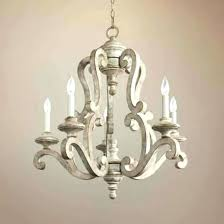 distressed white chandelier chandeliers distressed wood chandelier glamorous white
