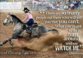 Barrel Racing Quotes Amazing Barrel Racing Quotes QUOTES OF THE DAY