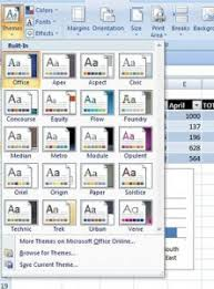 Excel Themes Create A Custom Theme In Excel 2007 How To Excel At Excel