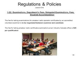 Industry canada amateur examiners