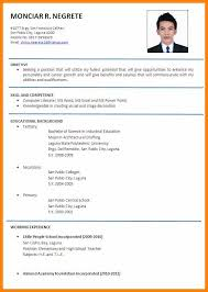 Resume Format For Teachers In Word Format Impressive 48 Formal Resume Examples Good New World