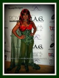 coolest homemade poison ivy costume