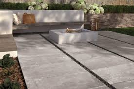 oversized outdoor porcelain tile by supergres top ideas trends for fire pit setup using tiles slate