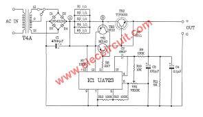adjustable v a laboratory dc power supply ec 01 circuit diagram