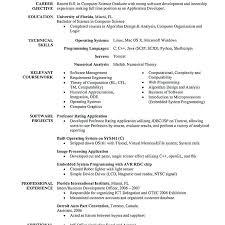 Sample Computer Programmer Resume Programmer Resume Example Programmer Resume Example
