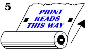 Poly Print Unwind Chart