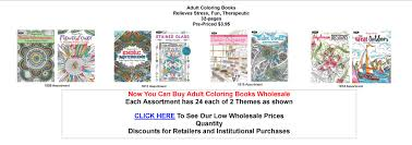 Wholesale Coloring Booksl