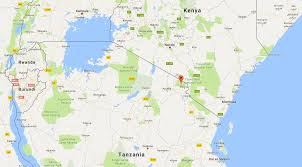 mount kilimanjaro location and map