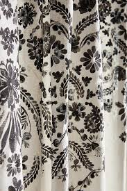 beige and black shower curtain. slide view: 2: oakbrook shower curtain beige and black