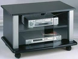 tv stands with glass doors astonishing elite el 144s tv stand on casters for 27 to