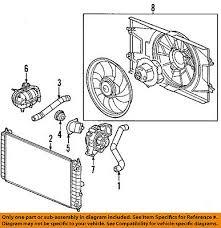 new radiator fan shroud assembly single type fits chevrolet cobalt gm oem fan shroud 20824475