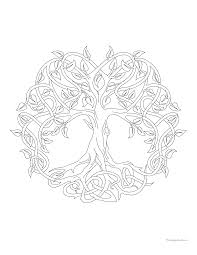 Small Picture Tree of life coloring page Archives Windingpathsartcom
