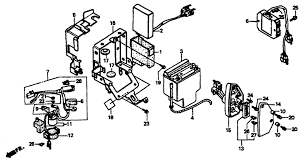 1992 honda shadow spirit 1100 vt1100c battery parts best oem schematic search results 0 parts in 0 schematics