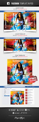 Welcome Summer Facebook Cover Template In Psd Post Event Cover