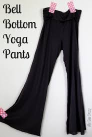 knit bell bottom yoga pants for me tutorial