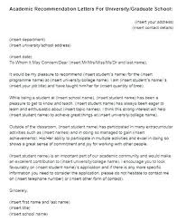 College Recommendation Letter Template Blogue Me
