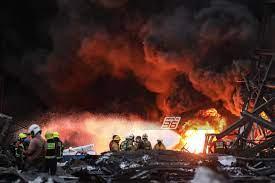 ประมวลเหตุการณ์ระเบิดไฟไหม้โรงงานกิ่งแก้ว