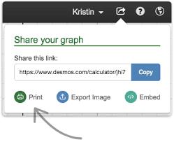 Print A Graph Printing Graphs Desmos