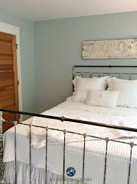 benjamin moore woodlawn blue one of the best blue paint colours antique metal bed