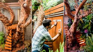 how to make a vertical garden. made in the shade: building a vertical garden under canopy of our guava tree how to make