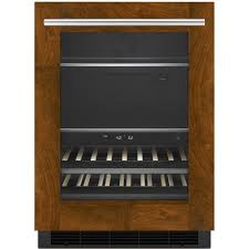 jenn air jfc2089bem. jenn-air - 14-bottle built-in wine refrigerator black/brown jenn air jfc2089bem