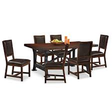 creative ideas value city dining table newcastle and 6 side chairs gany hover to zoom room
