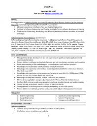 Sample Resume For Software Engineer With 2 Years Experience Resume Template For Experienced Software Engineer Zrom Tk Sample