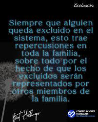 Un resumen sobre los Excluidos desde la... - Constelaciones Familiares con  Miguel Contreras | Facebook